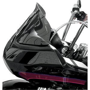 風防 ウィンドベスト10インチダークスモークフリップデザインウィンドシールドハーレーロードグライドFLTRX 98-13 Wind Vest 10
