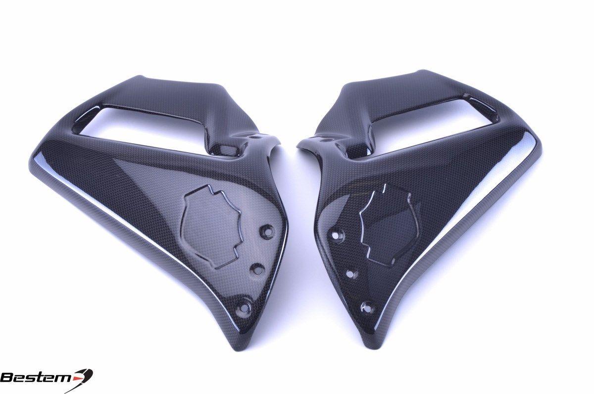 リアフェンダ V-ROD ハーレーダビッドソンVRSCF Vロッド筋肉炭素繊維サイドフェアリング Harley Davidson VRSCF V-Rod Muscle Carbon Fiber Side Fairings