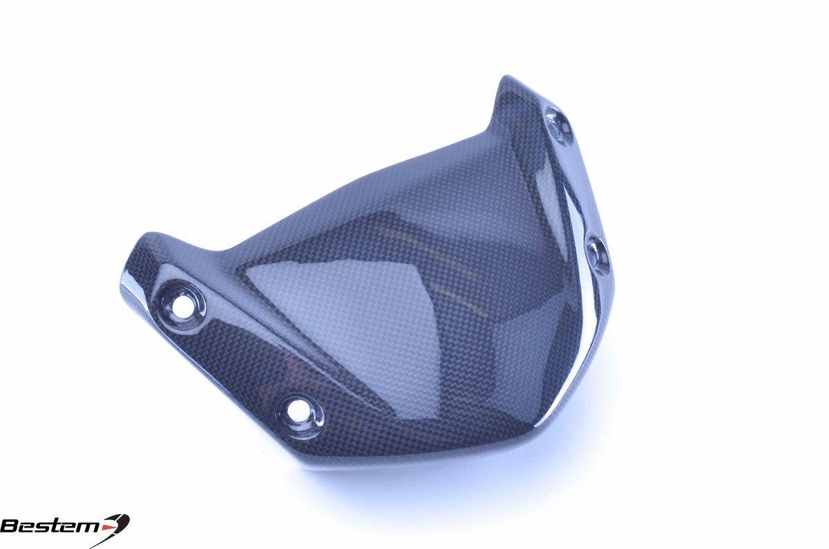 USバイク フェンダー カウル BMW BMW R1200R R1200RS 2015カーボンファイバーウインドスクリーンフライスクリーンフロントパネル BMW R1200R R1200RS 2015 Carbon Fiber Windscreen Fly Screen Front Panel