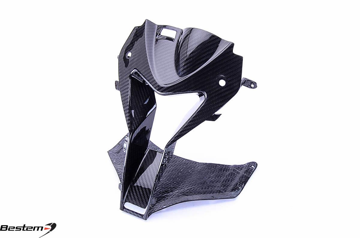 USバイク フェンダー カウル BMW BMW S1000RR HP4 2009 - 2014 100%カーボンファイバーヘッドノーズカウルエアインテークツイル BMW S1000RR HP4 2009 - 2014 100% Carbon Fiber Head Nose Cowl Air Intake Twill