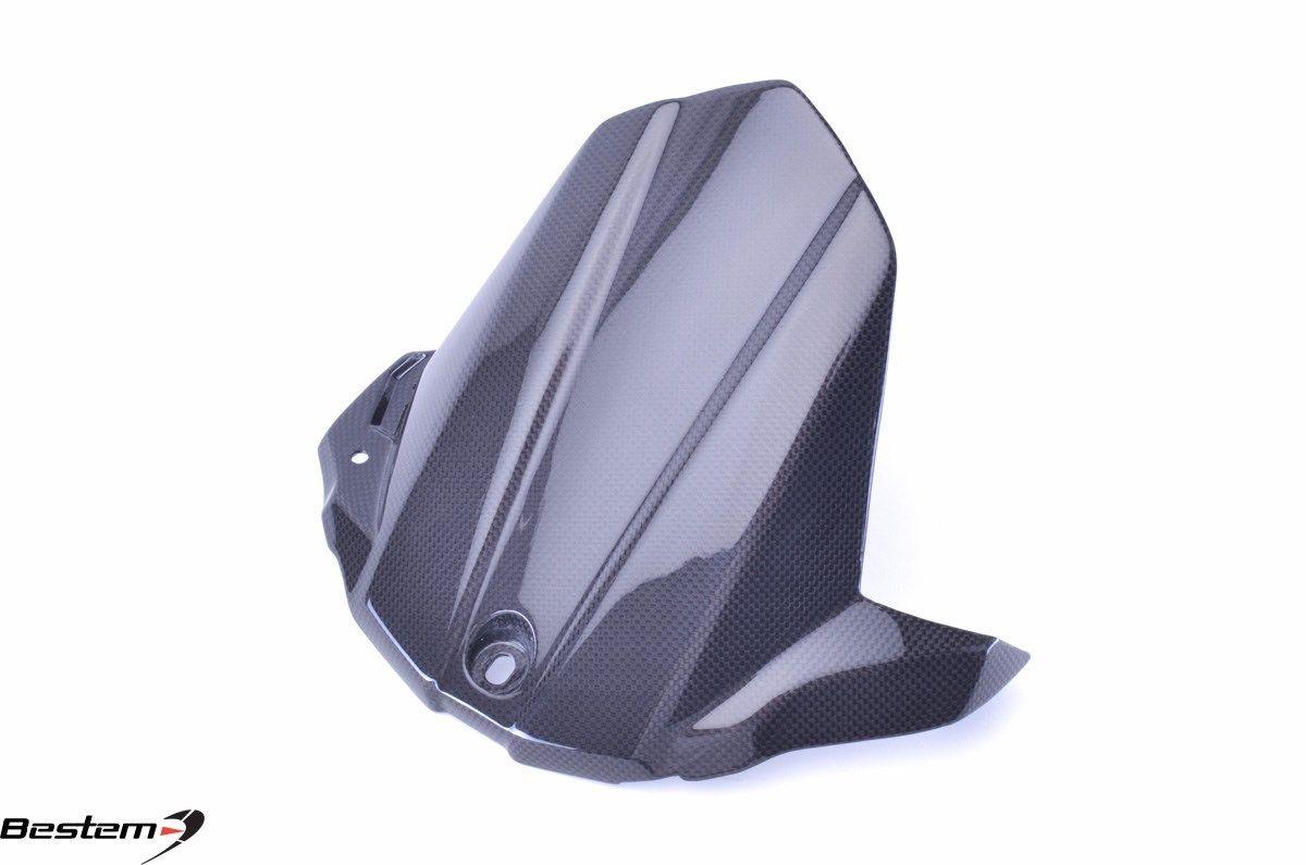 USバイク フェンダー カウル suzuki 2015 - 2017スズキGSX-S1000 GSXS1000炭素繊維リアフェンダーハザードマッドガード 2015 - 2017 Suzuki GSX-S1000 GSXS1000 Carbon Fiber Rear Fender Hugger Mudguard