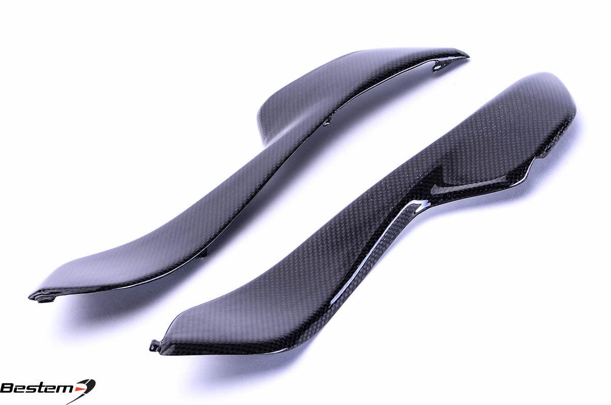 USバイク フェンダー カウル honda 2004 - 2007ホンダCBR1000RR CBR 1000RRカーボンファイバーサイドパネルフェアリングカバー 2004 - 2007 Honda CBR1000RR CBR 1000RR Carbon Fiber Side Panels Fairings Covers