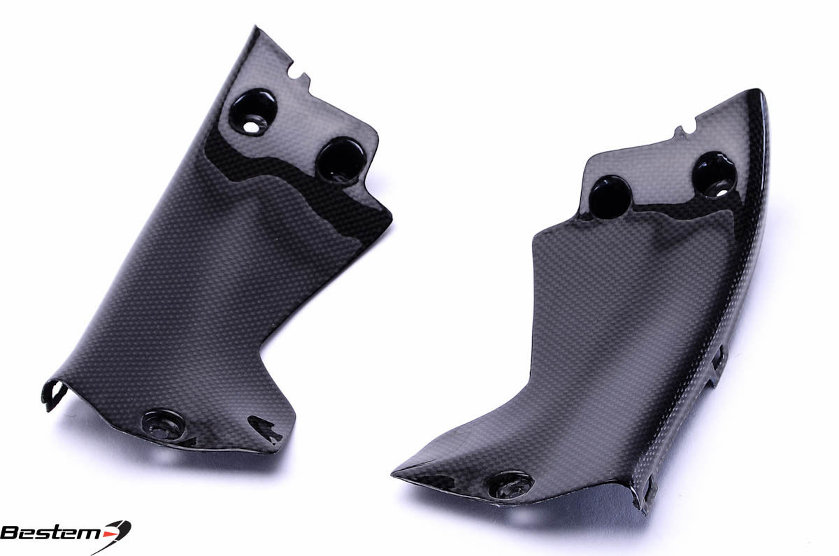 USバイク フェンダー カウル honda 2008 - 2011ホンダCBR1000RRカーボンファイバーフロントダッシュインフィルサイドパネルカバー 2008 - 2011 Honda CBR1000RR Carbon Fiber Front Dash Infill Side Panel Cover