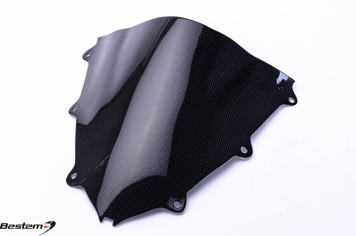 USバイク フェンダー カウル honda 2008 - 2011ホンダCBR1000RR CBR 1000RRカーボンファイバーフロントガラス 2008 - 2011 Honda CBR1000RR CBR 1000RR Carbon Fiber Windshield