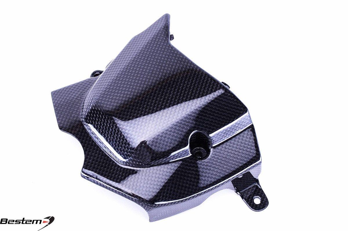 USバイク フェンダー カウル honda ホンダGromカーボン繊維スプロケットカバー100% Honda Grom Carbon Fiber Sprocket Cover 100%