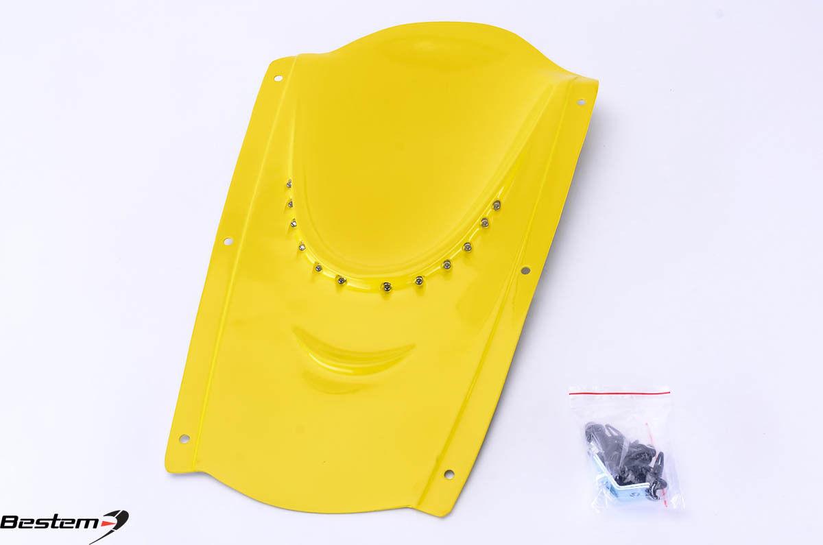 アンダーテイル suzuki スズキGSXR600 GSXR750 04 05アンダーテッドアンダーレイイエロー Suzuki GSXR600 GSXR750 04 05 Undertail Undertray Yellow