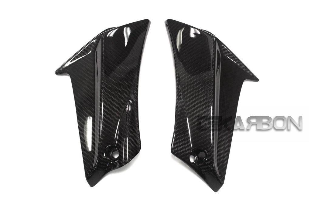 フェアリング suzuki 2011 - 2015 Suzuki GSXR 600 750カーボンファイバーサイドフェアリングパネル - 2x2ツイル 2011 - 2015 Suzuki GSXR 600 750 Carbon Fiber Side Fairing Panels - 2x2 twill