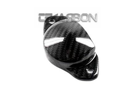 2011-2014 Suzuki GSR 750 Carbon Fiber Exhaust Heat Shield RH 2x2 twill weave