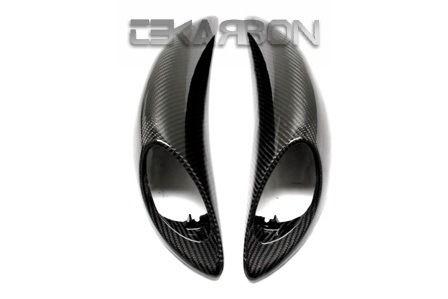 フェアリング suzuki 2008 - 2013スズキGSX1300Rはやぶさカーボンファイバーテールサイドフェアリング - 2x2ツイル 2008 - 2013 Suzuki GSX1300R Hayabusa Carbon Fiber Tail Side Fairings - 2x2 twill