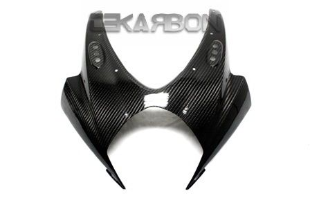 フェアリング suzuki 2007 - 2008スズキGSXR 1000カーボンファイバーフロントフェアリング - 2x2ツイル織り 2007 - 2008 Suzuki GSXR 1000 Carbon Fiber Front Fairing - 2x2 twill Weave
