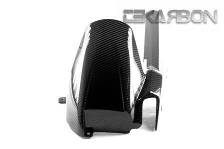 フェアリング suzuki 2011 - 2014スズキGSR 750カーボンファイバーリアハガー - 2x2ツイル織り 2011 - 2014 Suzuki GSR 750 Carbon Fiber Rear Hugger - 2x2 twill weave