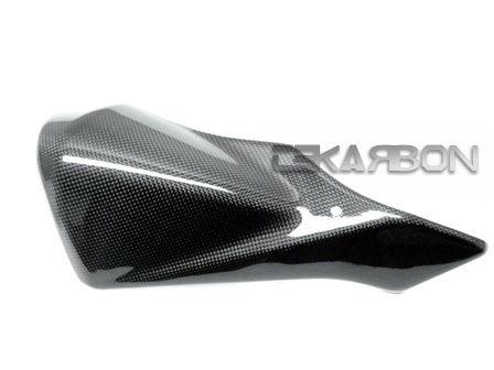 フェアリング suzuki 2011 - 2015年スズキGSXR 600 750炭素繊維排気熱シールド - 1x1平野 2011 - 2015 Suzuki GSXR 600 750 Carbon Fiber Exhaust Heat Shield - 1x1 plain