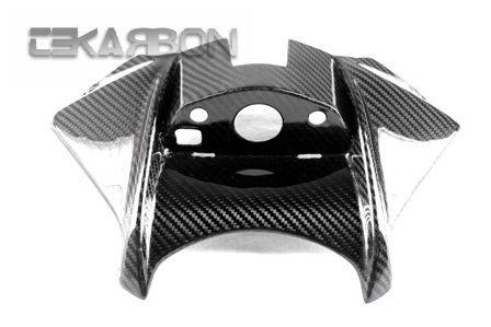 フェアリング suzuki 2011 - 2014スズキGSR 750カーボンファイバータンクカバー - 2x2ツイル織り 2011 - 2014 Suzuki GSR 750 Carbon Fiber Tank Cover - 2x2 twill weaves