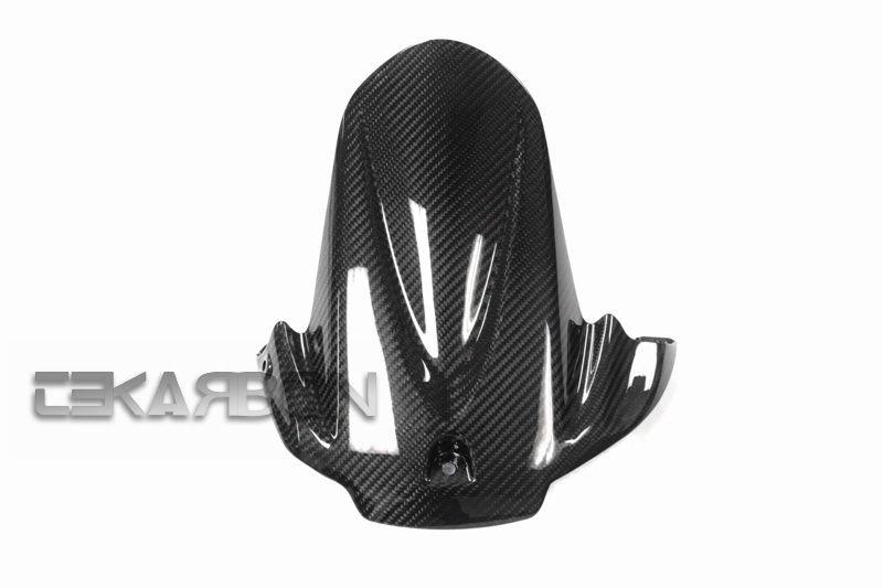 フェアリング suzuki 2009 - 2015スズキGSXR 1000カーボンファイバーリアハガー - 2x2ツイル織り 2009 - 2015 Suzuki GSXR 1000 Carbon Fiber Rear Hugger - 2x2 twill weave