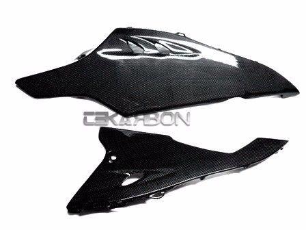 フェアリング suzuki 2009 - 2015年スズキGSXR 1000炭素繊維下側フェアリング - 1x1平織り 2009 - 2015 Suzuki GSXR 1000 Carbon Fiber Lower Side Fairings - 1x1 plain weaves
