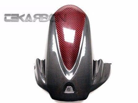 フェアリング suzuki 2009 - 2015スズキGSXR 1000カーボンファイバーリアハガーレッドブラックエディション 2009 - 2015 Suzuki GSXR 1000 Carbon Fiber Rear Hugger Red Black Edition