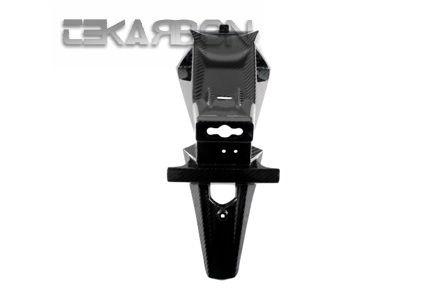 フェアリング suzuki 2011 - 2014スズキGSR 750カーボンファイバーナンバープレートホルダー - 2x2ツイル織り 2011 - 2014 Suzuki GSR 750 Carbon Fiber License Plate Holder - 2x2 twill weaves