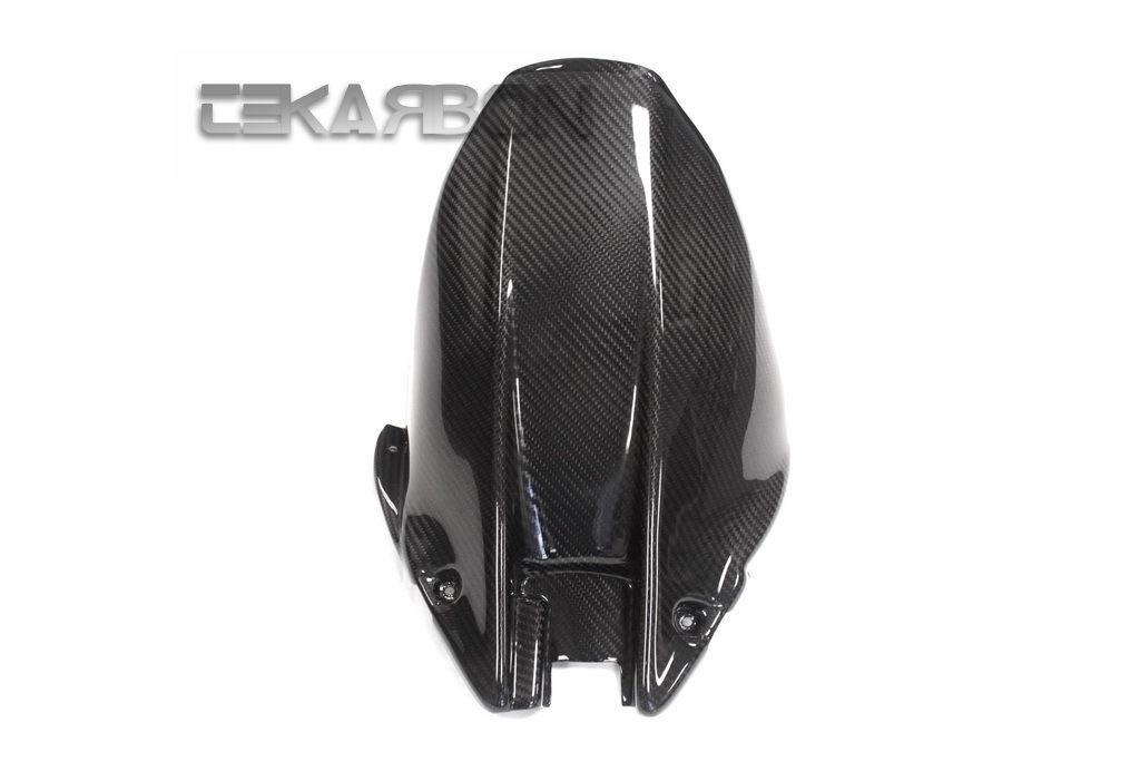 フェアリング honda 2008 - 2011ホンダCBR1000RRカーボンファイバーリアホガーロング - ツイル2x2織り 2008 - 2011 Honda CBR1000RR Carbon Fiber Rear Hugger Long - 2x2 twill weaves
