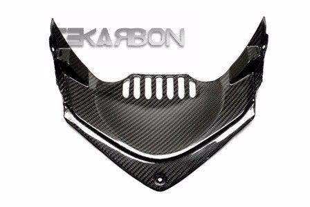 フェアリング honda 2012 - 2015 Honda CBR1000RRカーボンファイバーフロントアンダーパネル - 2x2ツイル織り 2012 - 2015 Honda CBR1000RR Carbon Fiber Front Under Panel - 2x2 twill weaves