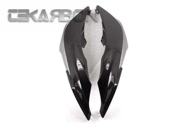 フェアリング honda 2007 - 2012ホンダCBR600RRカーボンファイバーフロントフェアリング - 1X1平織 2007 - 2012 Honda CBR600RR Carbon Fiber Front Side Fairings - 1X1 plain weave