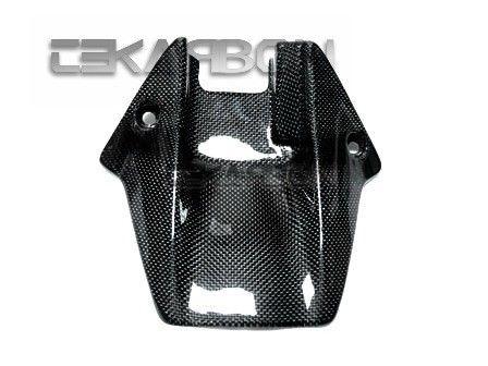 フェアリング honda 2008 - 2011 Honda CBR1000RRカーボンファイバーリアハガーショート - 1x1平織り 2008 - 2011 Honda CBR1000RR Carbon Fiber Rear Hugger Short - 1x1 plain weaves