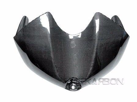 フェアリング yamaha 2008 - 2014ヤマハR6カーボンファイバータンクカバー - 1x1平織り 2008 - 2014 Yamaha R6 Carbon Fiber Tank Cover - 1x1 Plain weaves