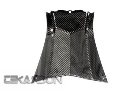 フェアリング yamaha 2012 - 2015ヤマハTmax 530カーボンファイバーセンターパネル - 2x2ツイル織り 2012 - 2015 Yamaha Tmax 530 Carbon Fiber Center Panel - 2x2 twill weave