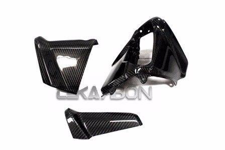 フェアリング yamaha 2012 - 2015ヤマハTmax 530カーボンファイバーダッシュパネルカバー3pc- 2x2ツイル 2012 - 2015 Yamaha Tmax 530 Carbon Fiber Dash Panel Covers 3pc- 2x2 twill