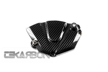 フェアリング yamaha 2006 - 2007ヤマハYZF R6カーボンファイバースプロケットカバー - 2x2ツイル織り 2006 - 2007 Yamaha YZF R6 Carbon Fiber Sprocket Cover - 2x2 twill weave