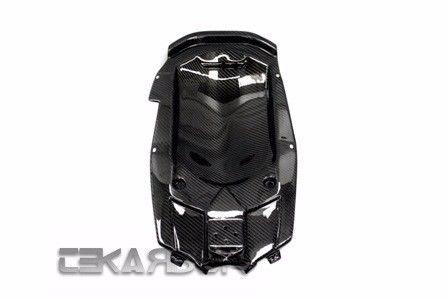 フェアリング yamaha 2012 - 2015ヤマハTmax 530カーボンファイバーアンダーテールフェアリング - 2x2ツイル 2012 - 2015 Yamaha Tmax 530 Carbon Fiber Under Tail Fairing- 2x2 twill