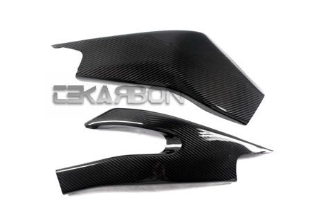 フェアリング yamaha 2006 - 2007ヤマハYZF R6炭素繊維スイングアームカバー - 2x2ツイル織り 2006 - 2007 Yamaha YZF R6 Carbon Fiber Swingarm Covers - 2x2 twill weave