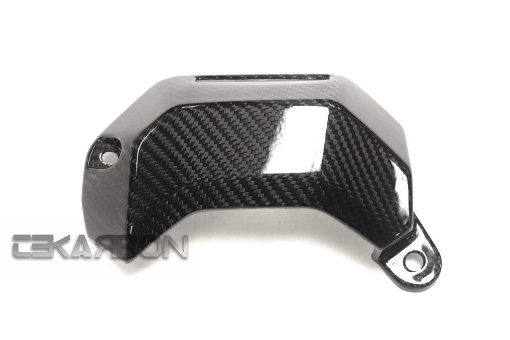 フェアリング yamaha 2013 - 2016ヤマハFZ07 MT07カーボンファイバーウォータークーラーカバー - 2x2ツイル 2013 - 2016 Yamaha FZ07 MT07 Carbon Fiber Water Cooler Cover - 2x2 twill