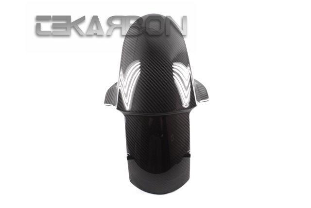 フェアリング kawasaki 2009 - 2015川崎ZX6R / ZX10(11-15)カーボンファイバーフロントフェンダー - 2x2ツイル 2009 - 2015 Kawasaki ZX6R / ZX10 (11-15) Carbon Fiber Front Fender - 2x2 twill
