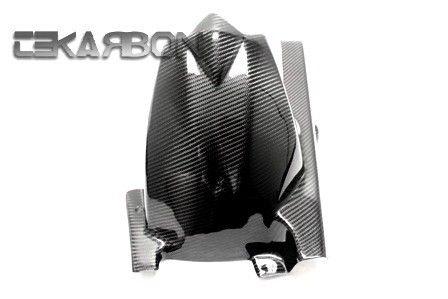 フェアリング kawasaki 2011 - 2012川崎Z750Rカーボンファイバーリアホーガー - 2x2ツイル 2011 - 2012 Kawasaki Z750R Carbon Fiber Rear Hugger - 2x2 Twill