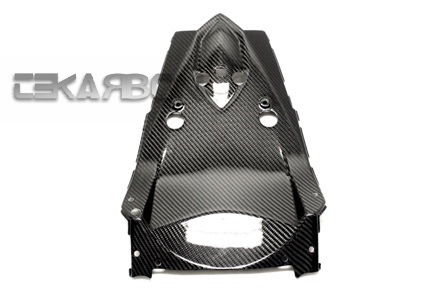 フェアリング kawasaki 2007 - 2011川崎Z750カーボンファイバーアンダーテールフェアリング - 2x2ツイル織り 2007 - 2011 Kawasaki Z750 Carbon Fiber Under Tail Fairing - 2x2 twill weaves