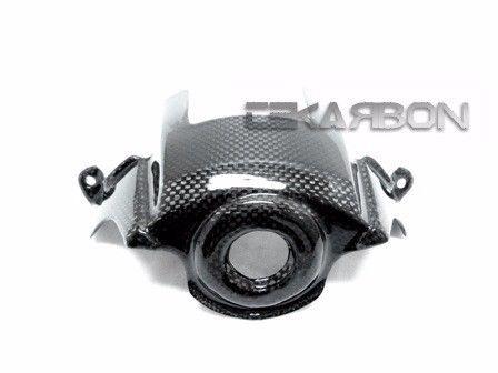 フェアリング kawasaki 2010 - 2016川崎Z1000カーボンファイバーキーガードカバー - 1x1平織り 2010 - 2016 Kawasaki Z1000 Carbon Fiber Key Guard Cover - 1x1 plain weaves