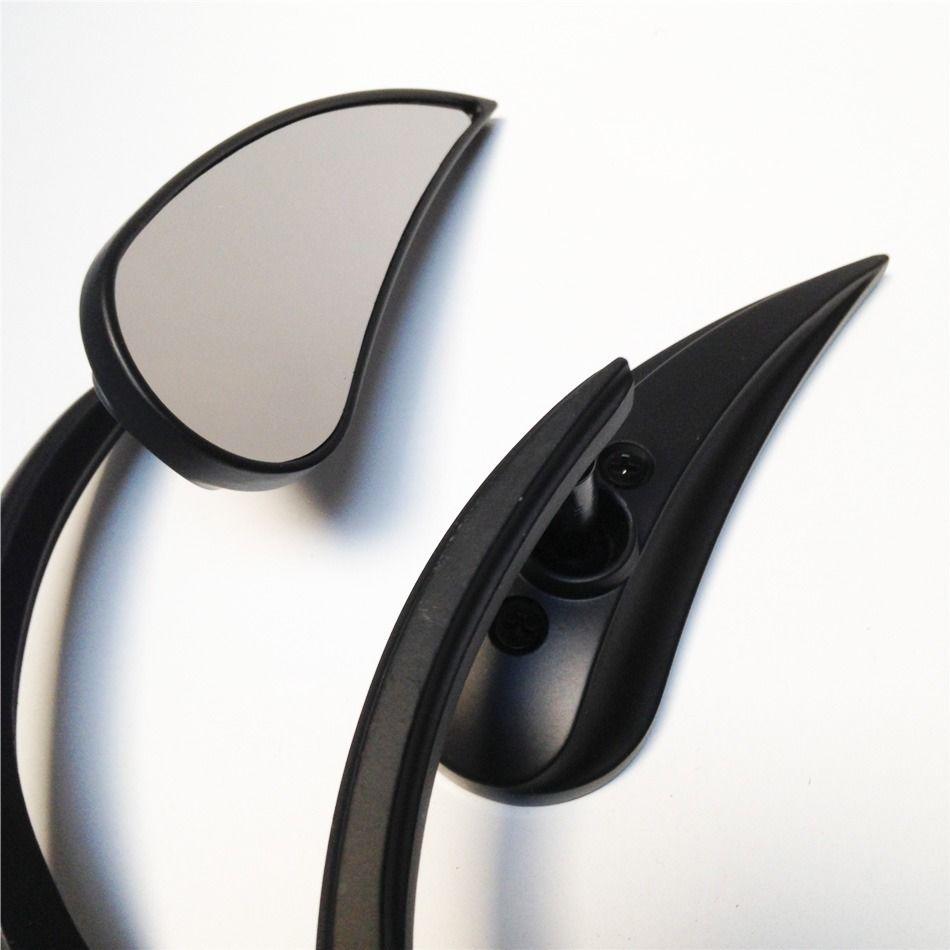 ミラー harley モーターハーレーストリートスポーツクルーザーブラックモーターサイクルクロースタイルのバックミラー Motor Harley street sports cruiser BLACK Motorcycle Claw style rearview mirror