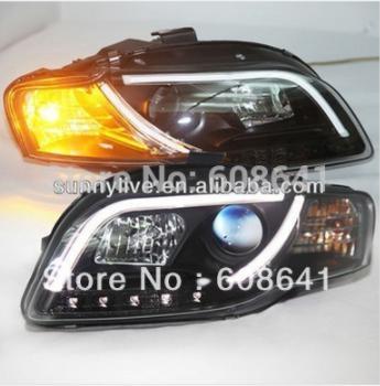 USヘッドライト[右ハンドル・日本仕様]Audi A4用LEDヘッドライトB7 LEDヘッドランプ2005年 - 2008年V LED Head Light For Audi A4 B7 LED head lamp 2005 - 2008 year V2 Type