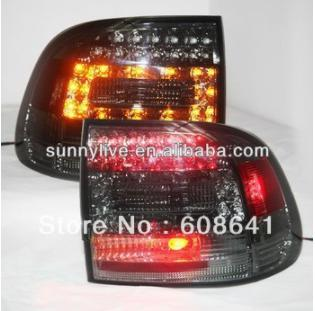 USテールライト[右ハンドル・日本仕様]ポルシェ03-07カイエンLEDリアライトテールランプすべてスモークブラックカラーFo For Porsche 03-07 Cayenne LED Rear Light Tail Lamp All Smoke Black Color