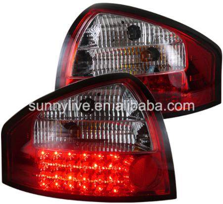 USテールライト[右ハンドル・日本仕様]アウディA6のLEDテールライトリアランプ2001-2004年赤と白For Audi For Audi A6 LED Tail Light Rear lamp 2001-2004 year Red and white