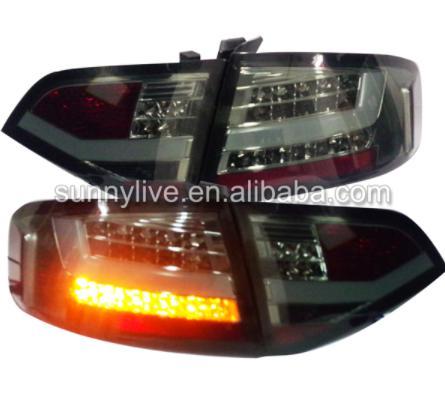 USテールライト[右ハンドル・日本仕様]Audi A4L A4B8用のLEDバージョンリアランプ2009-2012でオリジナル Fit for Original car with LED Version Rear lamp 2009-2012 For Audi A4L A4B8