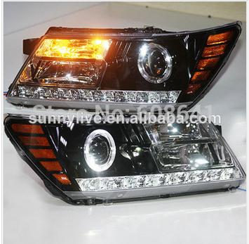 USヘッドライト[右ハンドル・日本仕様]ダッジジャーニー jcuv led ヘッド ランプ 2009-2014年For Dod For Dodge Journey JCUV LED Head Lamps 2009-2014 Years