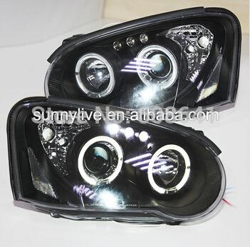 USヘッドライト[右ハンドル・日本仕様]スバルインプレッサ2003-2005年ledヘッドライトFor Subaru Impr For Subaru Impreza 2003-2005 year LED Head Lights