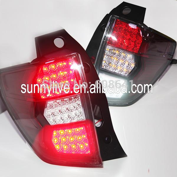 USテールライト[右ハンドル・日本仕様]2008-2012年スバルフォレスター用ledストリップリアライトwh2008-201 2008-2012 Year for Subaru Forester LED Strip Rear Light WH