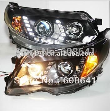 USヘッドライト[右ハンドル・日本仕様]スバルフォレスター用led ヘッドライト 2008-2013年pwFor Subaru For Subaru Forester LED Head Lights 2008 -2013 year pw