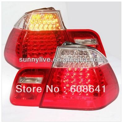 USテールライト[右ハンドル・日本仕様]BMW E46 7シリーズ318 320 323 325i LEDテールランプ2001 For BMW E46 7 Series 318 320 323 325i LED Tail Lamp 2001-2005 year