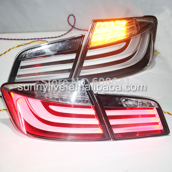 USテールライト[右ハンドル・日本仕様]2010-2013年BMW F10 F18 520 525 530 535i LEDテ 2010-2013 Year For BMW F10 F18 520 525 530 535i LED Tail Light Rear Lamps