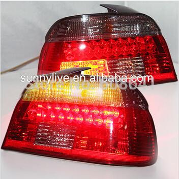 USテールライト[右ハンドル・日本仕様]E39 5シリーズ520 525 528 530 535 540 BMW LEDテール E39 5 Series 520 525 528 530 535 540 For BMW LED Tail Lamp 1997-2000 Year Red black Color