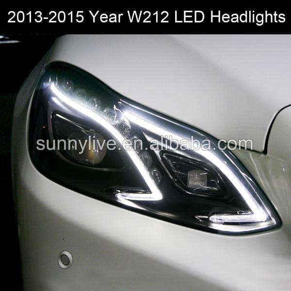 USヘッドライト[右ハンドル・日本仕様]Mercedes-Benz 2013-2015 Year W212 E320 E260 For Mercedes-Benz 2013-2015 Year W212 E320 E260L E300L E400L LED Head Lights SY