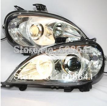USヘッドライト[右ハンドル・日本仕様]1998-2005年W163 ML320 ML350 ML430 ML450ヘッドラン 1998-2005 Year W163 ML320 ML350 ML430 ML450 Head Lamp For Mercedes-Benz Sliver LF